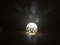 Disco Ball Inspired Light